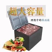 車載冰箱 18升127升epp保溫箱食堂學校外賣送餐配送箱冷藏箱特大號泡沫箱