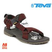 【Teva】男款 Terra Fi Lite 經典緹花織帶涼鞋 -紅棕色(1001473AFBR)【全方位運動戶外館】