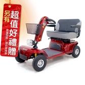 來而康 必翔 電動代步車 TE-9D 雙人共乘款 電動代步車款式補助 贈 熊熊愛你中單2件