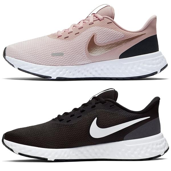 【現貨】 NIKE revolution 5 女鞋 慢跑 訓練 輕量 網布 透氣 黑/粉 【運動世界】 BQ3207-002 / BQ3207-600