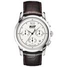 TISSOT天梭 Heritage 1948系列古典計時機械錶-銀x咖啡/39.5mm T66171233