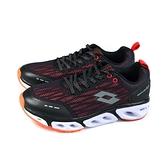 LOTTO AIRFLOW 4.0 運動鞋 黑/紅 男鞋 LT0AMR1901 no017