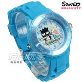 SANRIO三麗鷗 BAD BADTZ-MARU酷企鵝系列 日本機芯 童趣卡通女錶 兒童錶 水藍 S7-1035B