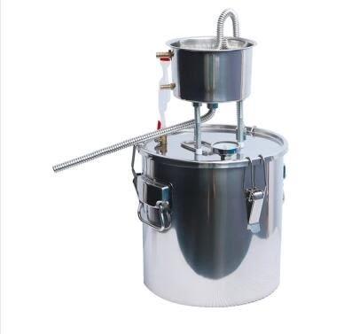 蒸酒機           釀酒設備家用小型蒸餾水純露機烤酒釀酒設備白蘭地機烤酒機發酵桶  igo 宜室家居
