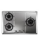《修易生活館》 莊頭北 TG-8533 S 保潔三口不鏽鋼檯面爐 (不含安裝費用)
