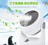 迷你空氣循環扇靜音節能家用電風扇臺式渦輪對流扇220Vigo 夏洛特