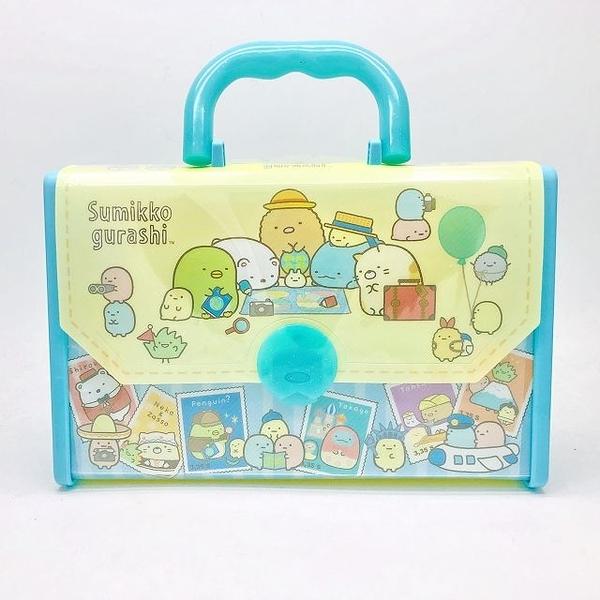 日本 San-X 角落生物 繪畫著色手提包組(6642) 餐廳用餐好物 超級BABY