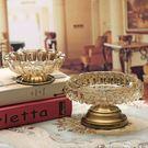 歐式水晶玻璃煙灰缸創意個性潮流多功能大號客廳實用現代通用擺件 范思蓮恩