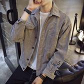 男士外套韓版潮流牛仔夾克外衣薄帥氣修身百搭棒球服