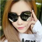 太陽鏡 新款潮流翅膀太陽眼鏡 炫彩果凍色彩膜水銀網紅男女墨鏡