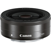 Canon EF-M 22mm f/2.0 STM 微單眼 廣角定焦鏡頭 WW【彩盒裝 / 平行輸入】For M10 M6 M5 M10 M3