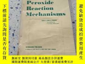 二手書博民逛書店Peroxide罕見Reaction mechanisms:過氧