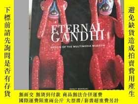 二手書博民逛書店eternal罕見gandhi永恆的甘地Y177301