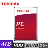【TOSHIBA 東芝】桌上型硬碟 4TB 3.5吋 SATAIII 內接式轉硬碟 DT02ABA400
