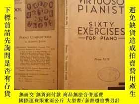 二手書博民逛書店C·L·HANON罕見SIXTY EXERCISESY15165