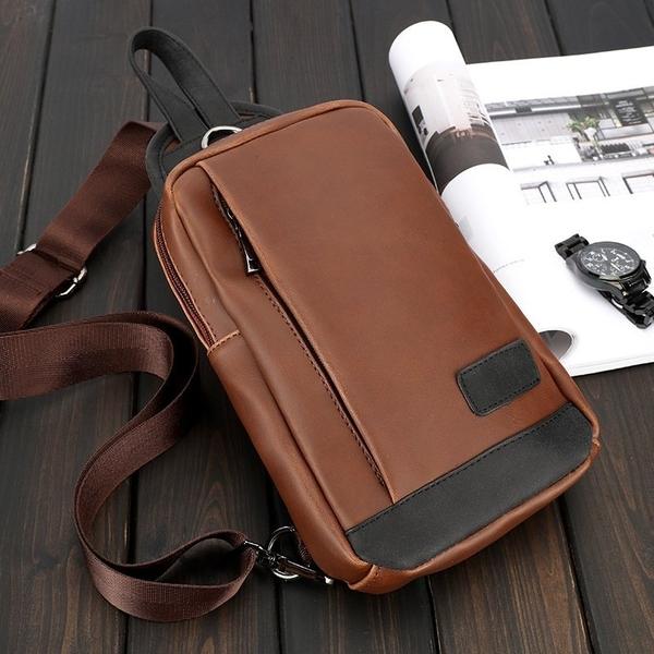 FINDSENSE品牌 韓國 新款  FIN韓國出品 包款 時尚 男士 挎包 多功能 運動 潮流