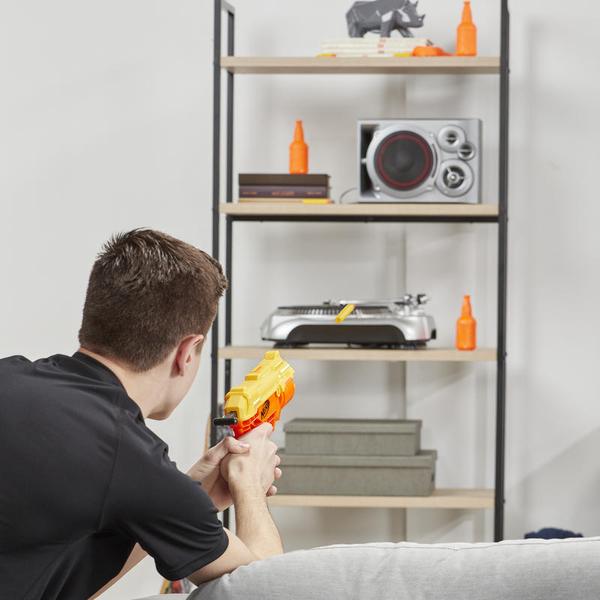 《 NERF 樂活打擊 》阿爾法系列 眼鏡蛇突襲者 (標靶組)╭★ JOYBUS玩具百貨