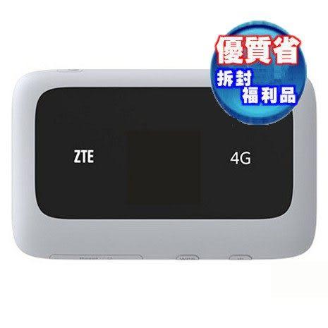 【福利品出清】零利率 ZTE MF910 LTE多工行動網卡-白 行動4G分享器 mf910