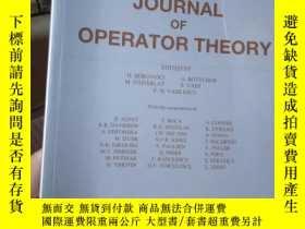 二手書博民逛書店Journal罕見of Operator Theory VOLU