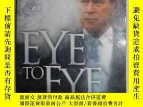 二手書博民逛書店【英語】原版英文書《罕見Eye to Eye Facing th