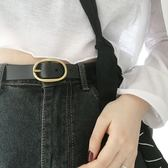 純牛皮復古針扣女士皮帶韓版簡約百搭真皮褲帶休閒時尚裝飾寬腰帶