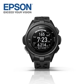 Epson WristableGPS J-300B 全能鐵人教練 水下心率 運動手錶