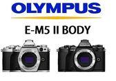 名揚數位 OLYMPUS OM-D E-M5 Mark II M2 BODY 單機身 元佑公司貨 (一次付清)登錄送原廠垂直手把HLD-8(10/21)