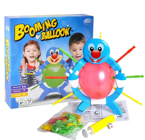 智力爆破汽球 桌遊 氣超夯親子玩具 親子/朋友/同事/尾牙/聚會/多人互動最佳遊戲