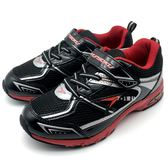 《7+1童鞋》日本瞬足 SYUNSOKU 輕量透氣 網面休閒 運動鞋 慢跑鞋 E296 黑色