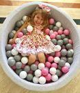 *粉粉寶貝玩具*外銷限定款~7公分安全遊戲彩球 (球屋、球池專用)~果凍粉~1000球~台灣製~