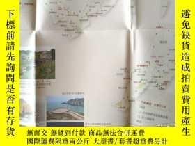 二手書博民逛書店馬祖列島旅遊攻略圖85乘58CM罕見馬祖列島旅遊攻略圖 馬祖列島