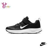 NIKE童鞋 男女童 WEARALLDAY 慢跑鞋 透氣網布 運動鞋 跑步鞋 路跑 訓練鞋 Q7103#黑銀◆奧森