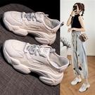 老爹鞋 老爹鞋潮女鞋新款夏季秋季百搭超火小白運動鞋鞋子-Ballet朵朵