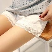 安全褲 2條裝 安全褲防走光女夏薄款蕾絲可外穿內搭打底褲寬鬆短褲保險褲