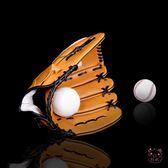 棒球手套棒球手套兒童 壘球手套兒童少年 青年成人 投手送棒球 聖誕禮物