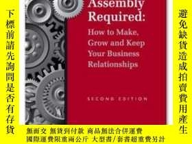 二手書博民逛書店Some罕見Assembly Required - Second EditionY307751 Thom Si
