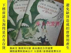 二手書博民逛書店托爾金口袋本系列罕見Farmer Giles of Ham 哈莫