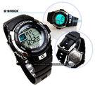 G-SHOCK 電子錶 黑色橡膠 G-7...