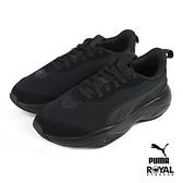 Puma Val 黑色 網布 休閒運動鞋 男女款NO.B1379【新竹皇家 37223902】