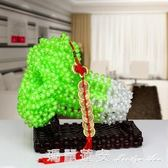 手工串珠玉白菜擺件材料包散珠客廳家居工藝飾品DIY編織製作珠子 瑪麗蓮安