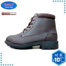 【ESKT 台灣 男 中筒雪鞋《咖啡》】SN210/冰爪/保暖雪靴/雪地行走/旅遊/靴子