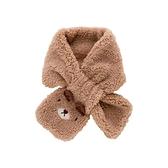 兒童圍巾 兒童保暖圍巾冬裝可愛動物造型圍脖洋氣寶寶套脖【快速出貨八折搶購】