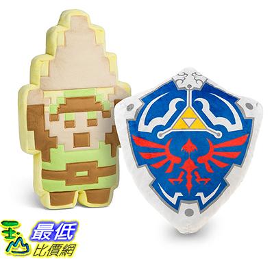 [107美國直購] Legend of Zelda 8-Bit Large Plush