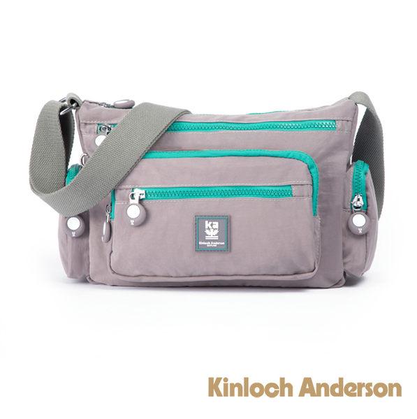 金安德森 極簡玩色 中型前袋式斜側輕旅包 灰色