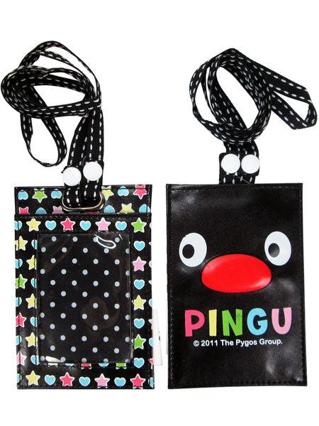 【卡漫城】 Pingu 皮革 卡片套 ㊣版 企鵝家族 悠遊卡 車票套 證件夾 名牌套 ~ 單個1 2 0元