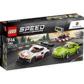 【LEGO 樂高 積木】LT-75888 超級賽車 Speed Champions Porsche 911 RSR and 911 Turbo 3.0