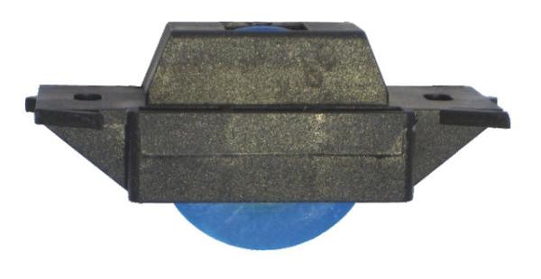 門輪 1000型塑膠培林輪 附自攻白鐵410螺絲*2