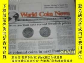 二手書博民逛書店World罕見Coin News(Vol.20,No.11)(M