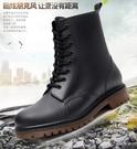 時尚防滑雨鞋男士春夏短筒低筒防水鞋套鞋馬丁雨靴男膠鞋大碼水靴「時尚彩虹屋」
