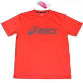 【ASICS 亞瑟士】2018台灣製 短袖T恤 運動T恤 抗UV 吸汗速乾 K31401-17 粉橘 [陽光樂活]